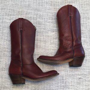 Vintage Frye oxblood 8D boots